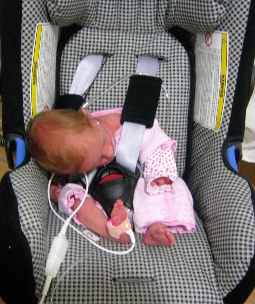 Baby car seat test