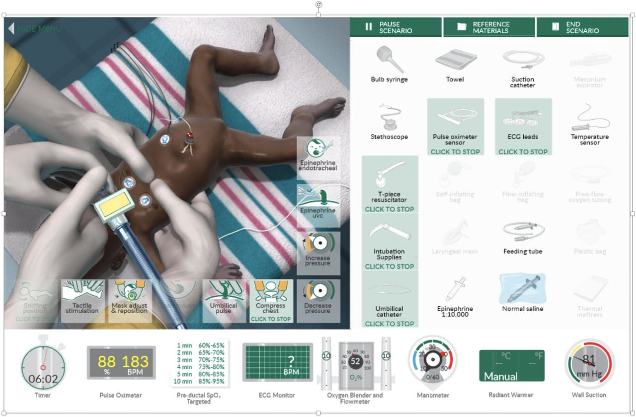 Serious games, a game changer in teaching neonatal