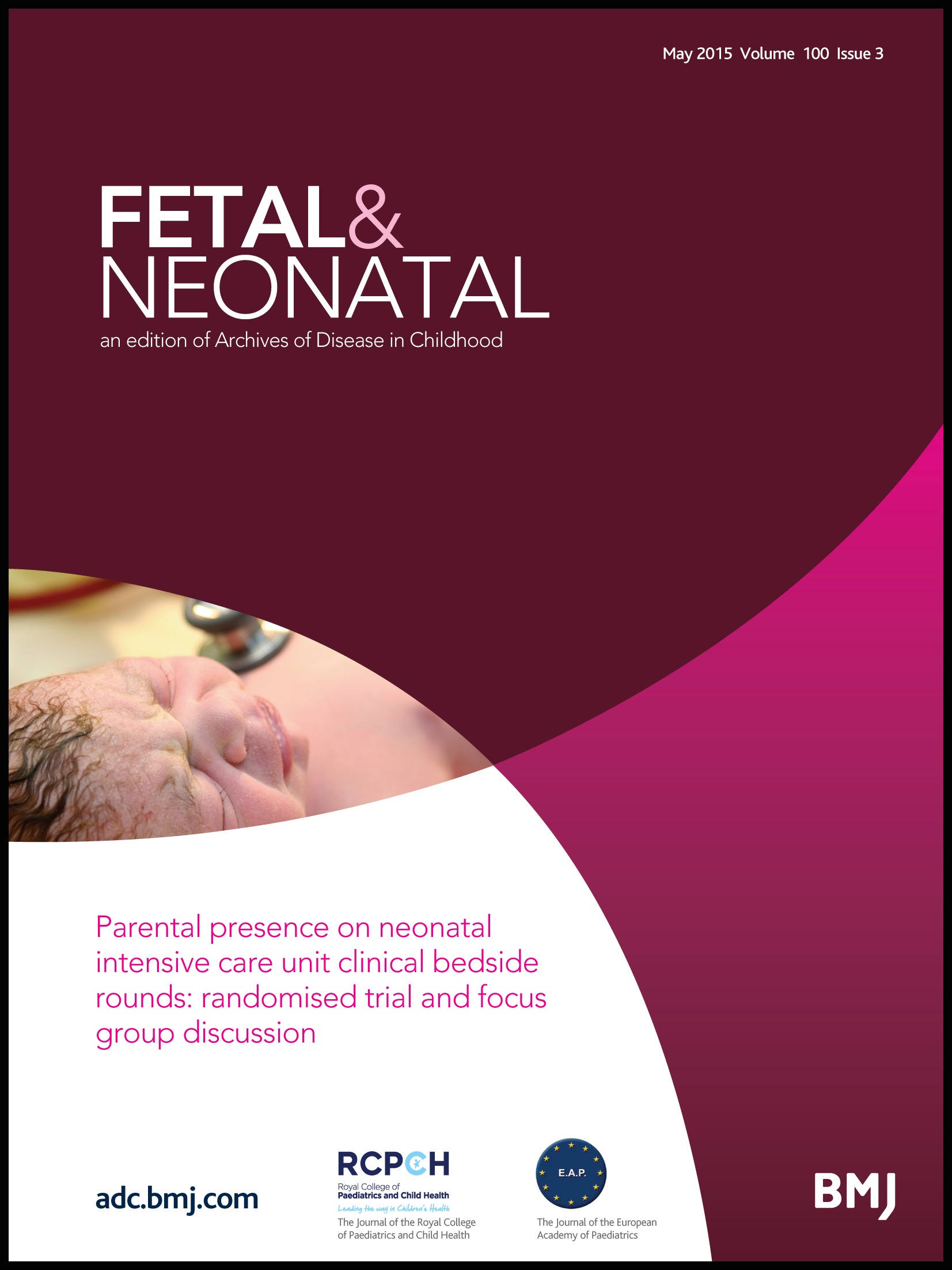 Parental presence on neonatal intensive care unit clinical bedside rounds:  randomised trial and focus group discussion | ADC Fetal & Neonatal Edition