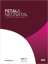 Archives of Disease in Childhood - Fetal and Neonatal Edition: 81 (1)